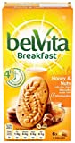 Belvita Breakfast Biscuit Honey Nuts 300 g (Pack of 10)
