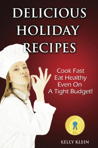 Delicious Holiday Recipes cover