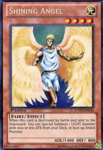 Yu-Gi-Oh! - Shining Angel (LCYW-EN236) - Legendary Collection 3: Yugi's World - 1st Edition - Secret Rare - 1