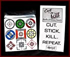 Cut-N-Kill Screen Target Aim Cheat for Call of Duty Ghosts PLAYSTATION 3 PS3 XBOX 360 PC ONE 4 WII