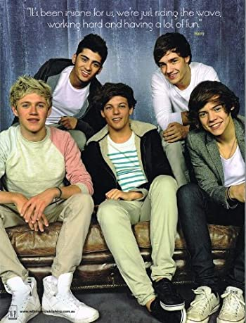 One Direction 「Gotta Be You」 ワン・ダイレクション wp diamond editions 大型雑誌