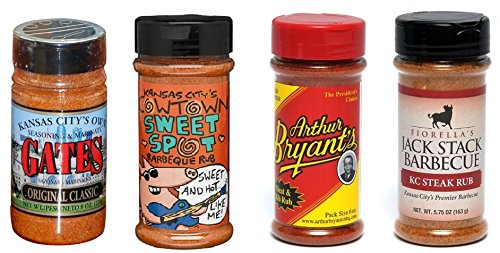 Kansas City BBQ Dry Rub Variety Pack (4) (Dry Meat Rubs compare prices)
