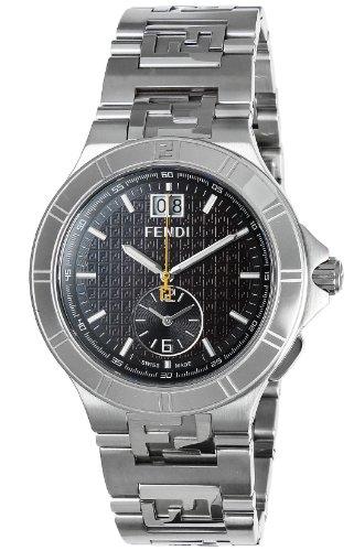 [フェンディ]FENDI 腕時計 Highspeed ブラウン文字盤 クロノグラフ デイト F477120 メンズ 【並行輸入品】