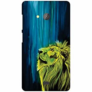 Back Cover For Microsoft Lumia 540 Dual SIM (Printed Designer)