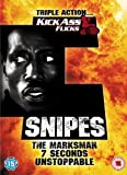 Wesley Snipes Collection: Seven Seconds / The Marksman / Unstoppable [DVD] [2007]