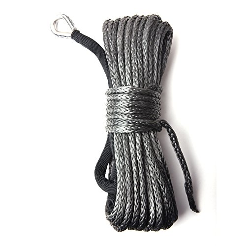 CISNO-Car-ATV-UTV-Synthetic-Winch-Line-Cable-Rope-With-Sheath-14x50