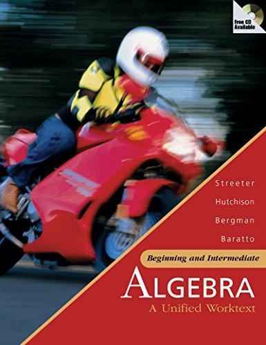 Smart CD-ROM to Accompany Beginning and Intermediate Algebra