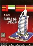 Cubic Fun 3D Puzzle: Dubai Burj Al Arab Sculpture