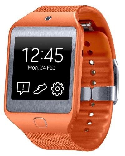 New! Samsung Galaxy Gear 2 Neo SM-R381 (WILD ORANGE) Smartwatch , 1.63″ Super AMOLED 100% New