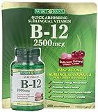 Natures Bounty B-12 2500 mcg, 250 Microlozenges