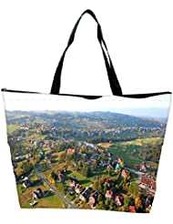 Snoogg City From The Top Designer Waterproof Bag Made Of High Strength Nylon