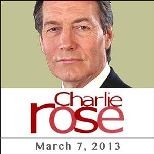 Charlie Rose: Rex Tillerson, March 7, 2013 | [Charlie Rose]