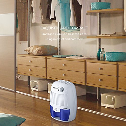portable dehumidifier compact moisture absorber for home bedroom