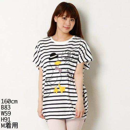 リベット・アンド・サージ(rivet & surge) アヒルのプリントが可愛いビックTシャツ