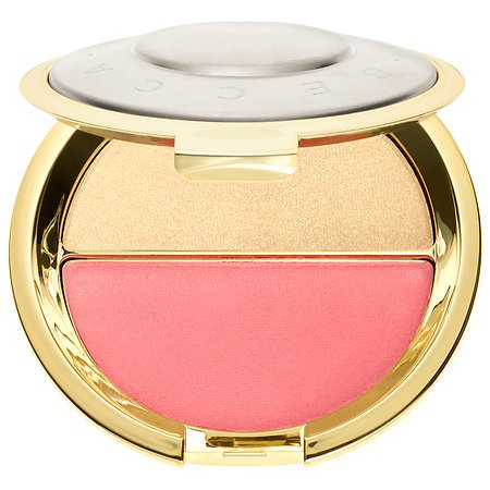 Becca x Jaclyn Hill Champagne Splits Shimmering Skin Perfector Mineral Blush Duo # Prosecco Pop/Pamplemousse (Mac Pink Split Eye Shadow compare prices)