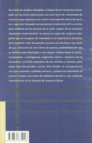 Los textos del yo (Letras Mexicanas) (Spanish Edition)