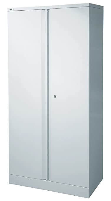 "NEXT DAY Exec 72"" Steel Cupboard (empty) - Grey"