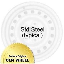 PONTIAC VIBE 16×6.5 Factory Oem Wheel Rim- STEEL-BLACK – Remanufactured