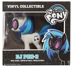 Amazon Com Funko My Little Pony Dj Pon 3 Vinyl Figure