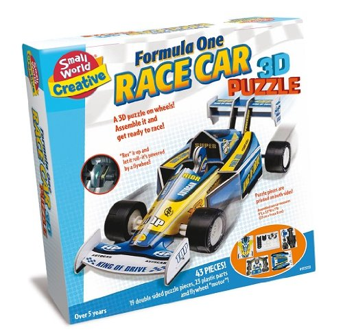 Small World Toys Creative -Formula One Race Car 3D Puzzle front-979561