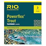 Rio Powerflex Trout Leaders 3-Pack 2x