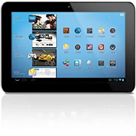 Coby Kyros 10.1-Inch Android 4.0 8 GB 16:10 Capacitive Multi-Touchscreen Widescreen Internet Tablet with Built-In Camera, Black MID1045-8