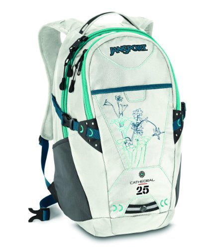 Jansport Cathedral Backpack (Marshmallow White)