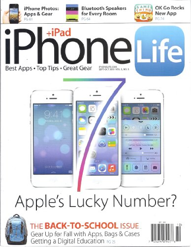 Iphone + Ipad Life (September/October 2013 - Vol. 5/No. 5)