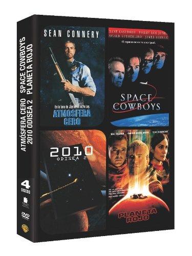 Pack: Space Cowboys + 2010: Odisea Dos + Planeta Rojo + Atmósfera Cero [DVD]