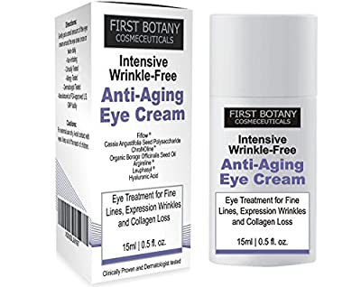 Best Cheap Deal for First Botany Cosmeceuticals Intensive Wrinkle Free Anti-Aging Eye Cream, 15 ml from FIRST BOTANY COSMECEUTICALS - Free 2 Day Shipping Available