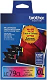 Brother LC793PKS CyanMagentaYellow Genuine Colour Ink Cartridge3-Pack