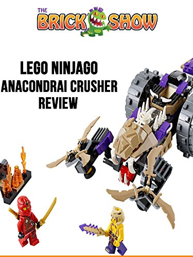 LEGO Ninjago Anacondrai Crusher Review