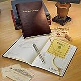 Bonded Leather Wine Tasting Journal
