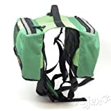 Kyjen Outward Hound Quick Release Dog BackPack, Large, Green