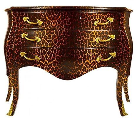 Casa Padrino Barock Kommode in Leopard Look