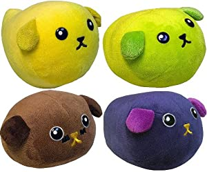 Mameshiba Japanese Plush Set Of 4
