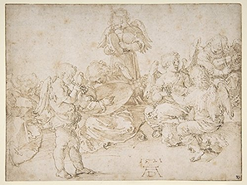 Music-Making Angels Poster Print By Albrecht Dürer (18 X 24)