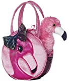 Aurora World Fabulous Flamingo Fancy Pals Pet Carrier