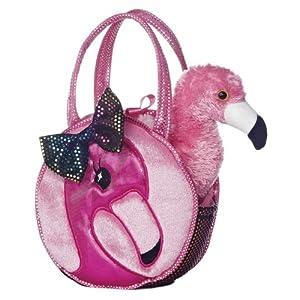 Aurora World Plush Fabulous Flamingo Fancy Pals Pet Carrier