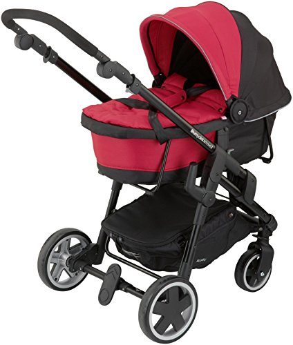 Kiddy Click 'n Move 3 Carrycot - Cranberry