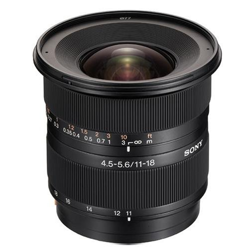 Sony Alpha DT 11-18mm F4.5-5.6 Lens