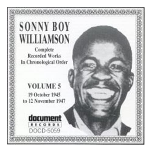 Complete Recorded Works, Vol. 5 (1945-1947) by Sonny Boy Williamson (John Lee Williamson)