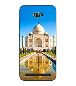 Make My Print Taj Mahal Printed Colorful Hard Back Cover For Asus Zephone Max