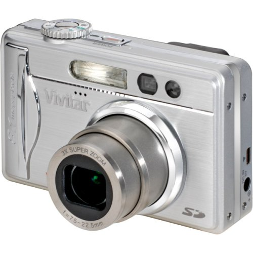 Vivitar Vivicam 8300s 8.1-Megapixel Digital Camera with 2.5-Inch LCD Screen
