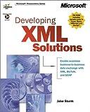 Developing XML solutions