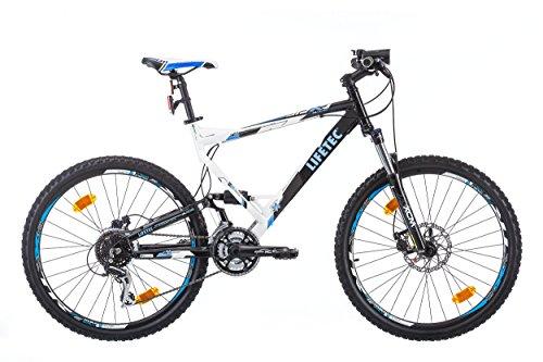 """Lifetec JDX Bicicletta Mountain Bike Doppia sospensione 26"""" , Shimano 24 cambios"""