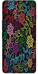 Timpax Protective Hard Back Case Cover With Easy access to all ports Printed Design : A multicolour designers pattern.Compatible with OnePlus-X