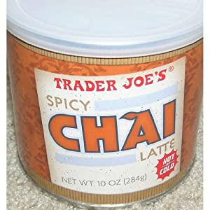 Trader Joes Spicy Chai Latte 10 Ounces Pack Of 6 by Trader Joe's