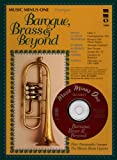 Music Minus One Trumpet: Baroque Brass and Beyond: Brass Quintets (Sheet Music & CD)