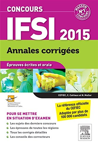Concours IFSI 2015